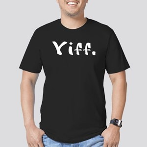 Yiff. - White Men's Fitted T-Shirt (dark)