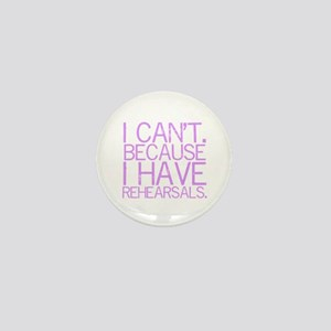 """I can't. Because..."" (lvndr) Mini Butto"
