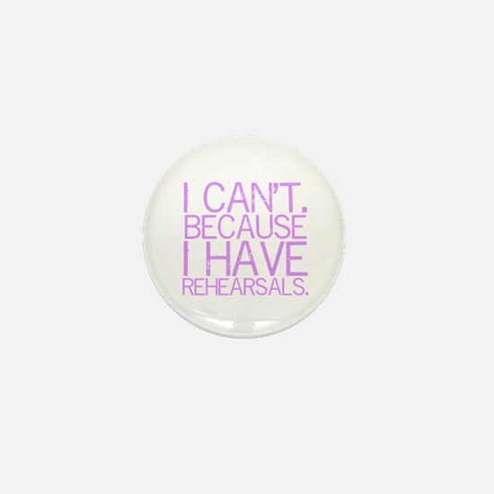 """""""I can't. Because..."""" (lvndr) Mini Butto"""