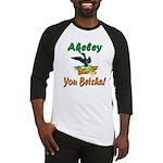 Akeley 'You Betcha' Loon Baseball Jersey