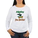 Akeley 'You Betcha' Loon Women's Long Sleeve T-Shi