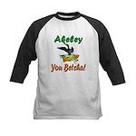 Akeley 'You Betcha' Loon Kids Baseball Jersey