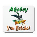 Akeley 'You Betcha' Loon Mousepad