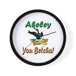 Akeley 'You Betcha' Loon Wall Clock
