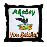 Akeley 'You Betcha' Loon Throw Pillow