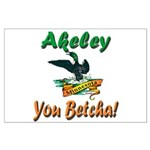 Akeley 'You Betcha' Loon Large Poster