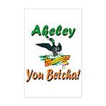 Akeley 'You Betcha' Loon Mini Poster Print