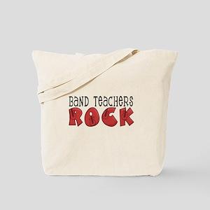 Band Teachers Rock Tote Bag