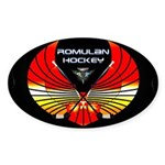 Romulan Hockey Novelties Oval Sticker (50 Pk)
