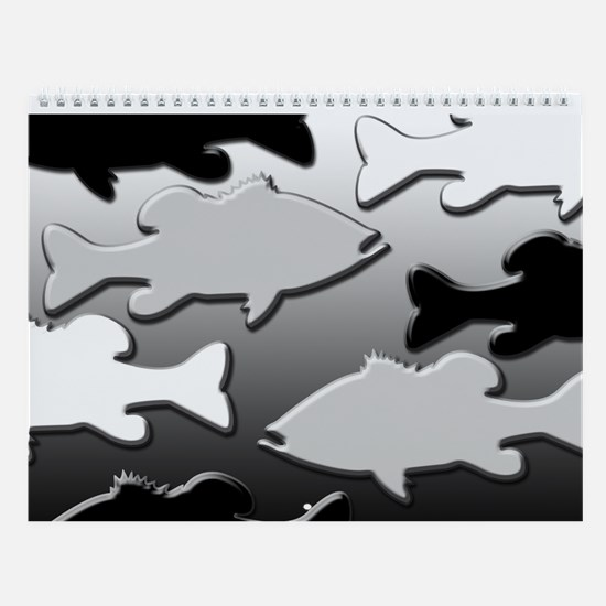 NOTHING BUT BASS Wall Calendar