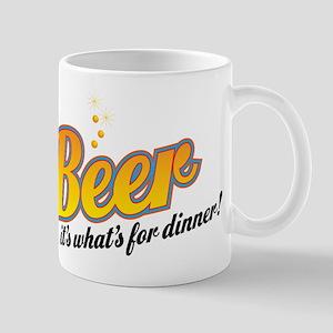 Beer-It's what's for dinner Mug