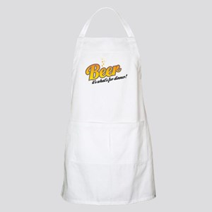 Beer-It's what's for dinner Apron