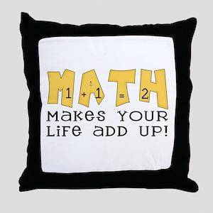 Math Throw Pillow
