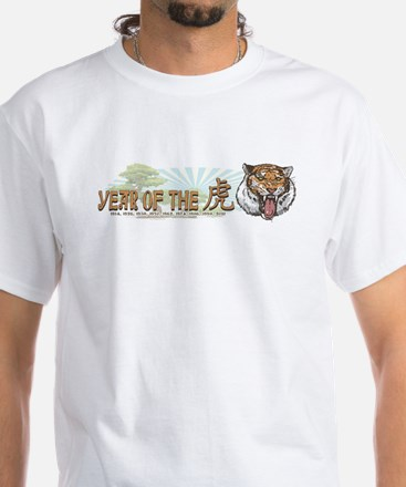 Year of the Tiger White T-Shirt