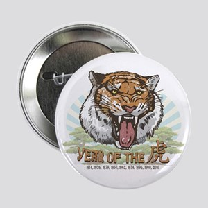 "Year of the Tiger 2.25"" Button"