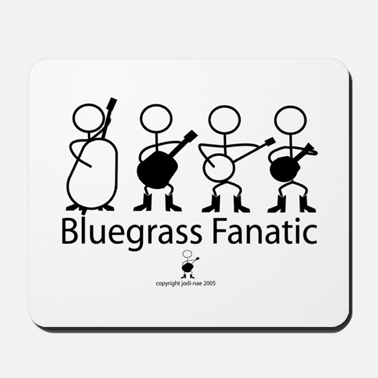 Bluegrass Fanatic Mousepad