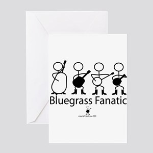 Bluegrass Fanatic Greeting Card