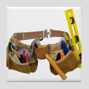 Tool belt Tile Coaster