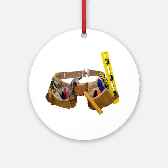 Tool belt Ornament (Round)
