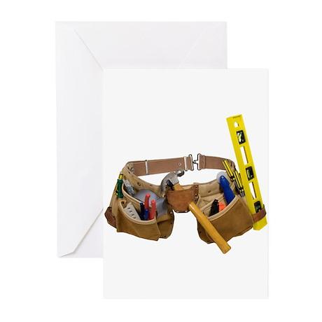 Tool belt Greeting Cards (Pk of 10)