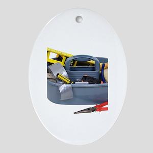 Tool box Oval Ornament