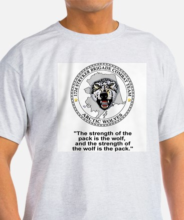 172nd Stryker Brigade<BR>Arctic Wolves Shirt 28