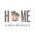 Home is where the heart is Postcards (Package of 8