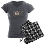 Home is where the heart is Women's Charcoal Pajama