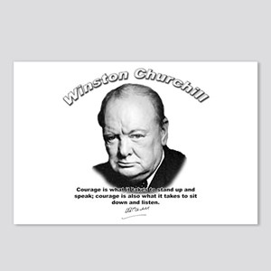 Winston Churchill 01 Postcards (Package of 8)