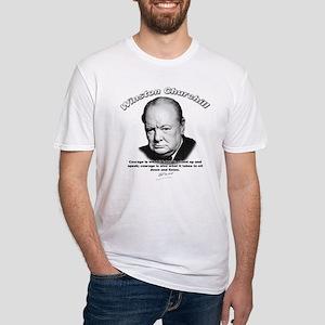 Winston Churchill 01 Fitted T-Shirt