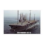 USS WRIGHT Mini Poster Print