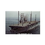 USS WRIGHT Rectangle Magnet (100 pack)