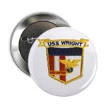 """USS WRIGHT 2.25"""" Button"""