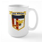 USS WRIGHT Large Mug