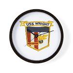 USS WRIGHT Wall Clock