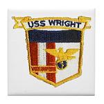 USS WRIGHT Tile Coaster
