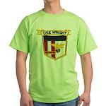 USS WRIGHT Green T-Shirt