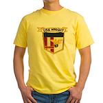 USS WRIGHT Yellow T-Shirt