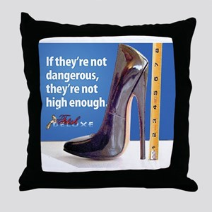 Heel Fetish Throw Pillow