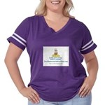 Yesoil Women's Plus Size Football T-Shirt