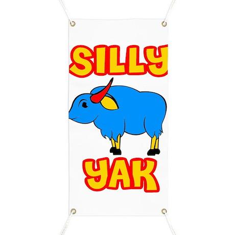 Silly Yak Celiac Banner