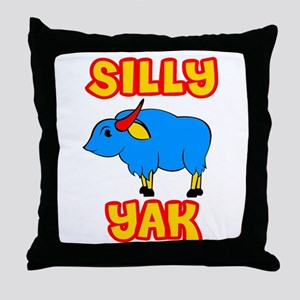 Silly Yak Celiac Throw Pillow