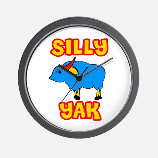 Silly Yak Celiac Wall Clock