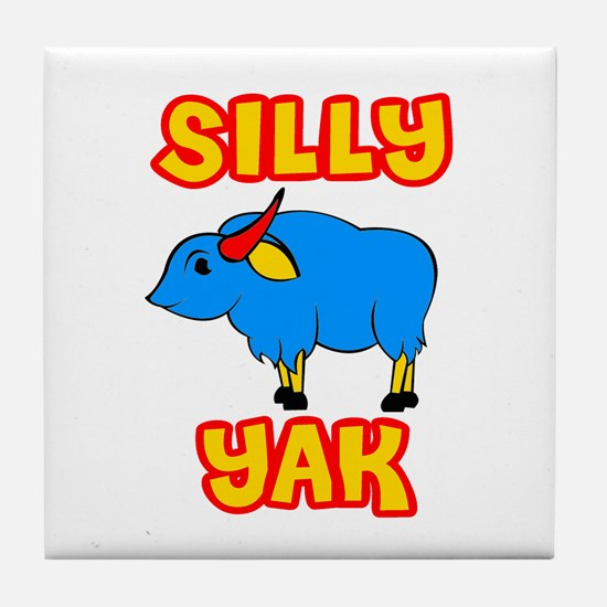 Silly Yak Celiac Tile Coaster
