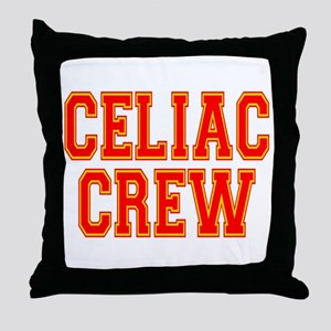 Celiac Crew Throw Pillow
