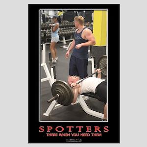 Spotter Motivational Poster