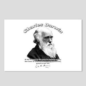 Charles Darwin 02 Postcards (Package of 8)