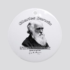 Charles Darwin 02 Ornament (Round)