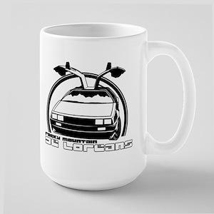 Rocky Mountain DeLoreans Large Mug