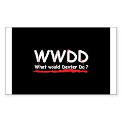 Dexter Gift Rectangle Sticker 10 pk)